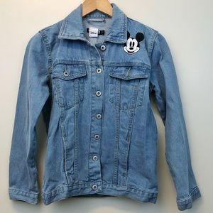 BooHoo Mickey Denim Jacket